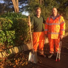 Frome Town Council's rangers at work