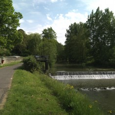 The Weir at The River Frome