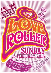 roller disco poster