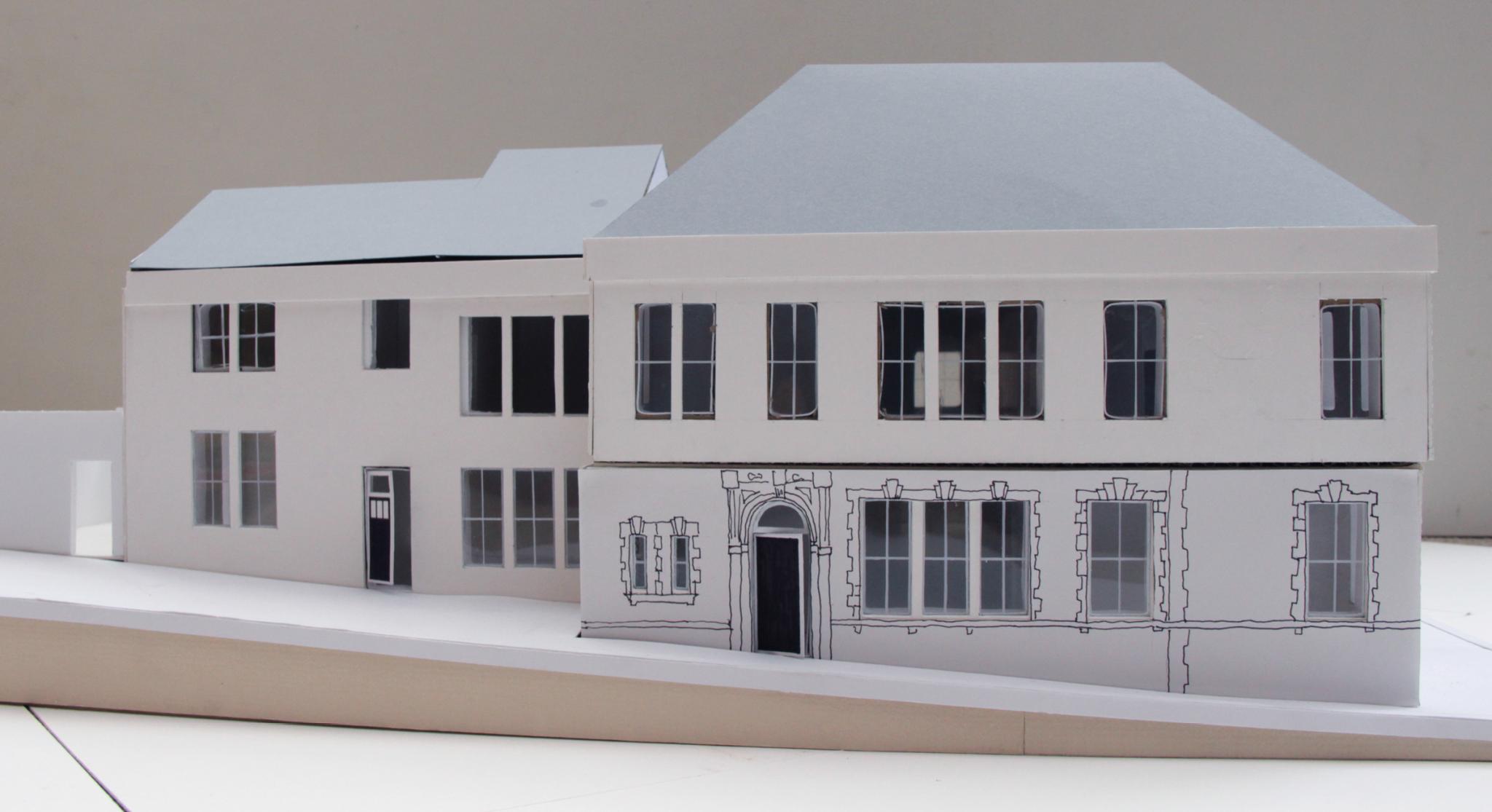 Christchurch St Building model