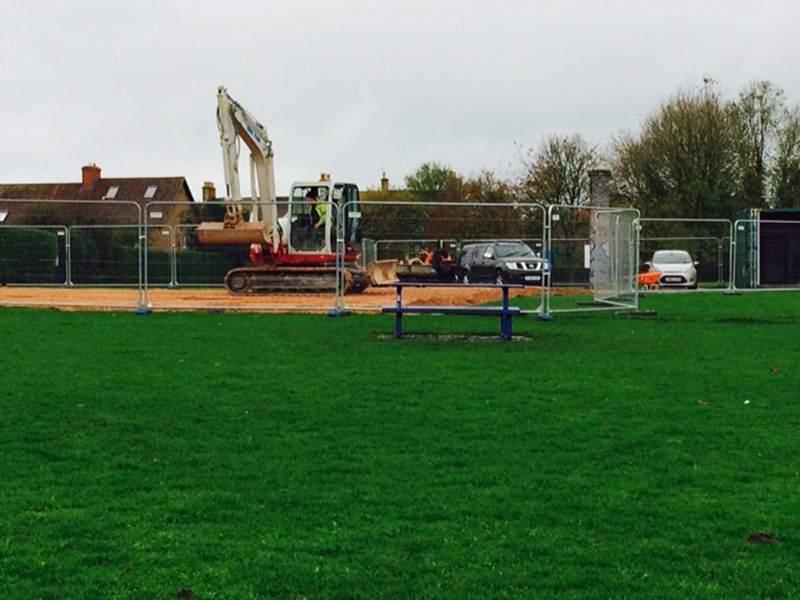 Work Gets Underway on MUGA