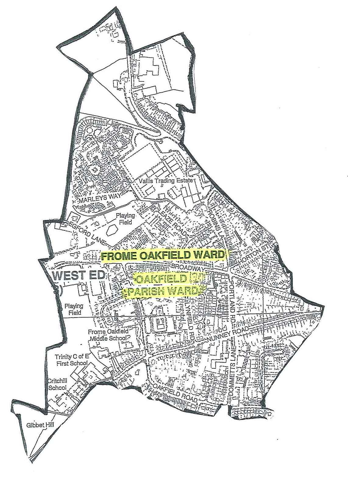 Where Is Your Ward Frome Town Council