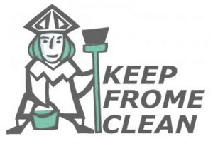 KEEP FROME CLEAN