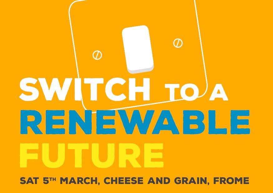 'switch to a renewable future' logo