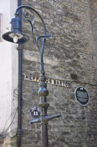 Cockey Lamp Sheppard's Barton - Staff