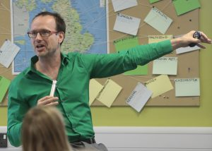©David Chedgy _Richard Pancost director of the Cabot Institute Clean and Healthy Future event at Frome College_21st July 2016