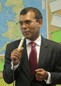 -®David Chedgy _Mohammed Nasheed Former President of the Maldives at the FTC Clean and Healthy Future event at Frome College_21st July 2016_97A4024
