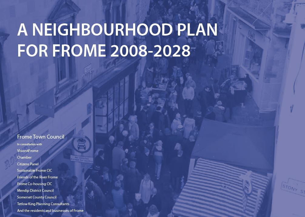 "Cover of ""Neighbourhood Plan for Frome 2008-2028"""