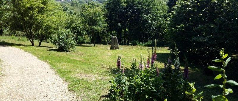 Photo of Millennium Green in summer.