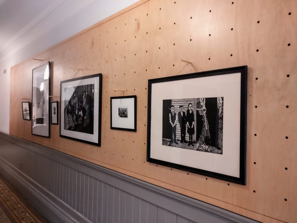 Photo of Black Pig Print Studio exhibition