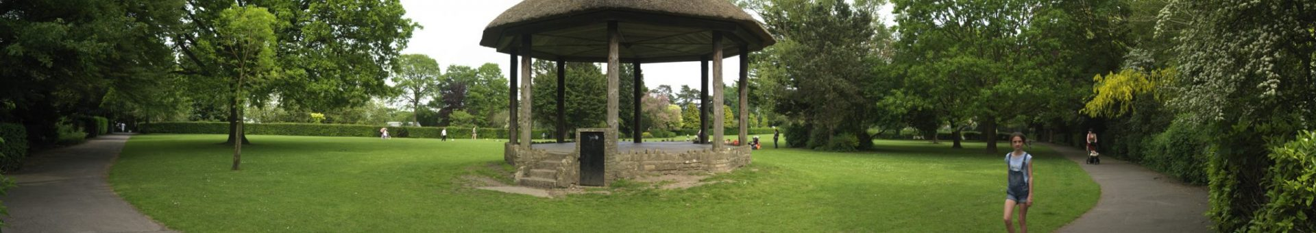 Bandstand at Victoria Park, Frome