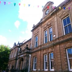 Frome Town Hall, external
