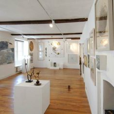 Inside the Black Swan Arts gallery