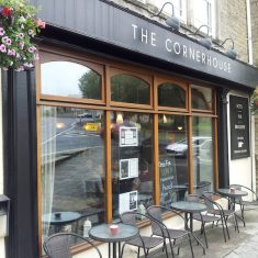 Front of The Cornerhouse pub, Frome