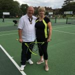 Courts packed for free tennis launch