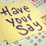 Have your say on the council's next four years