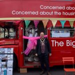 Big Red Housing Bus drives awareness locally