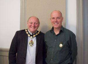 Frome councillors Mark Dorrington and Rich Ackroyd