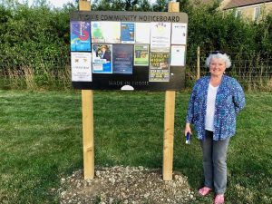 Noticeboard volunteer Frome Town Council