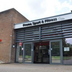 Outside Frome Sport & Fitness building