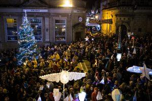 Frome Christmas lantern parade 2018