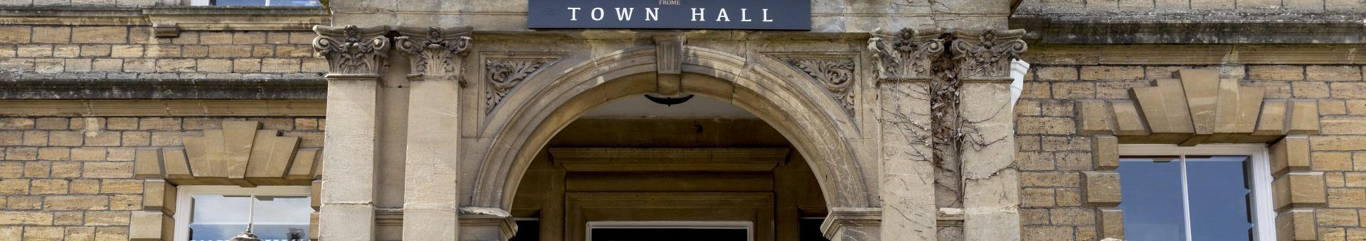 Front entrance of Frome Town Hall