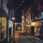 Late night shoppers hit the streets of Frome