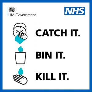 Catch it, bin it, kill it government poster