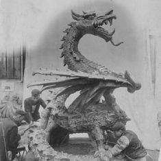Cardiff City Hall Dragon