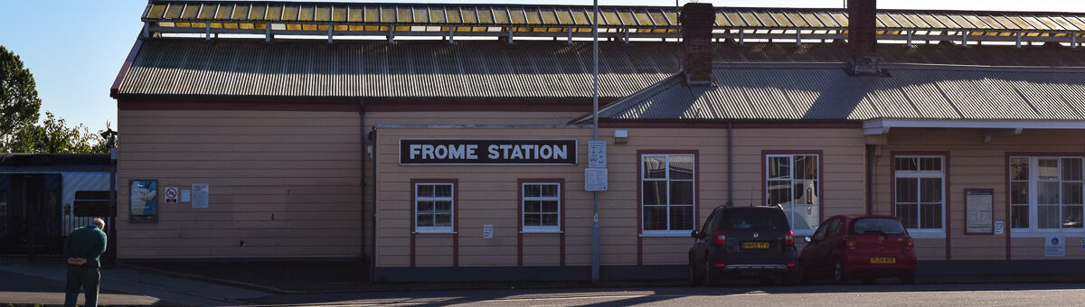 Frome Train station