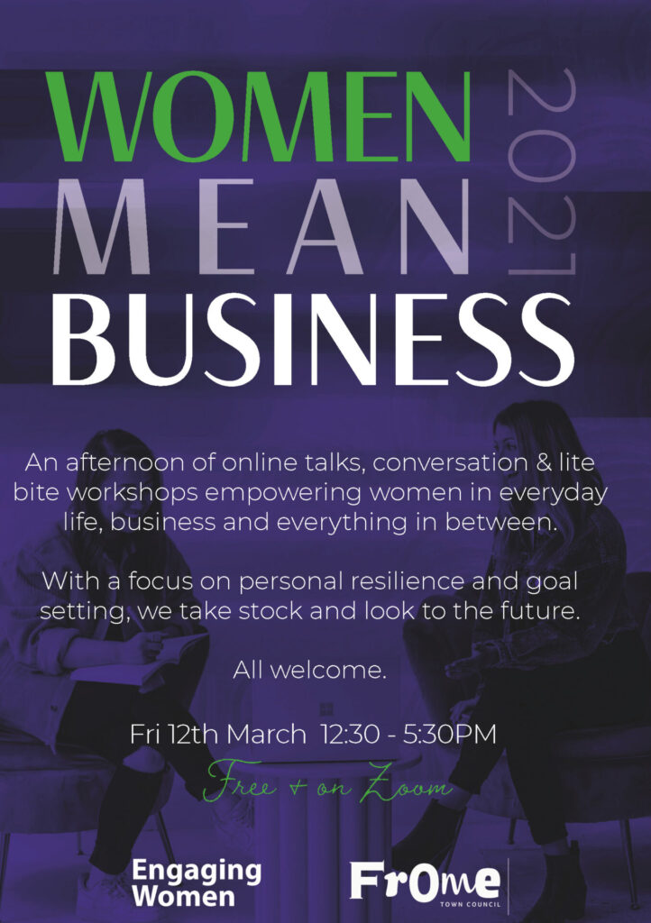 Women Mean Business Poster