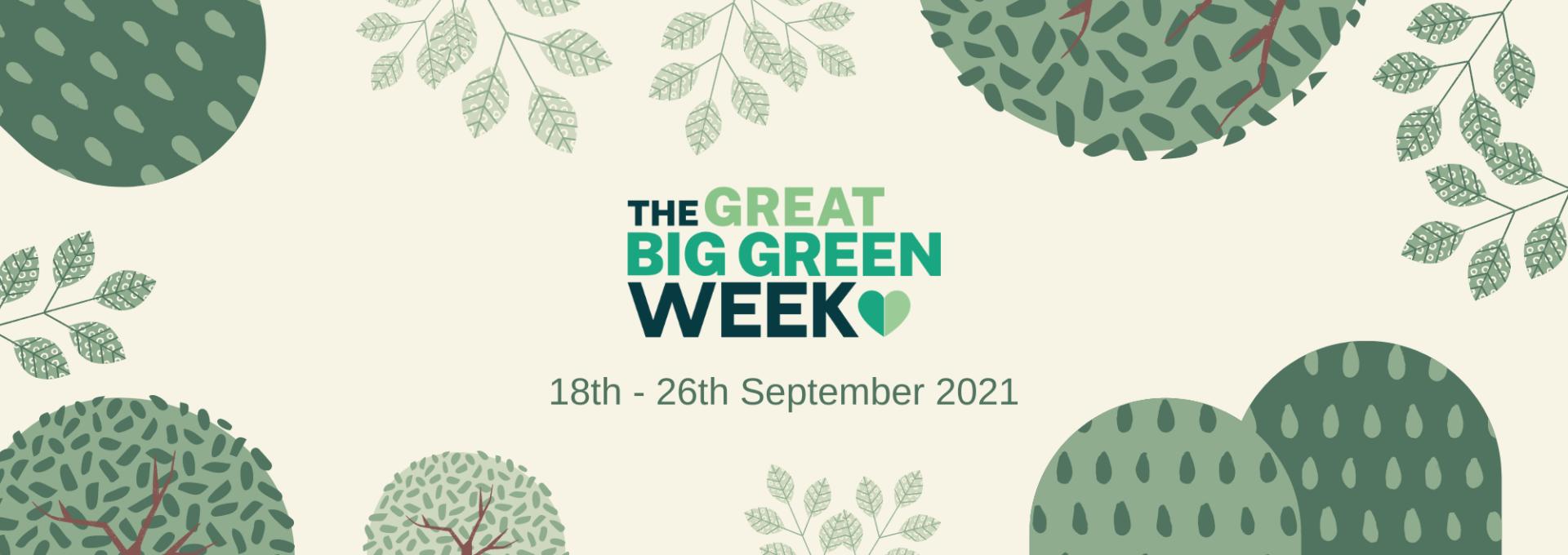 Great Big Green Week header