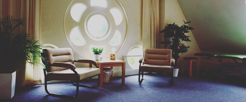 Treatment room at Pure Moves