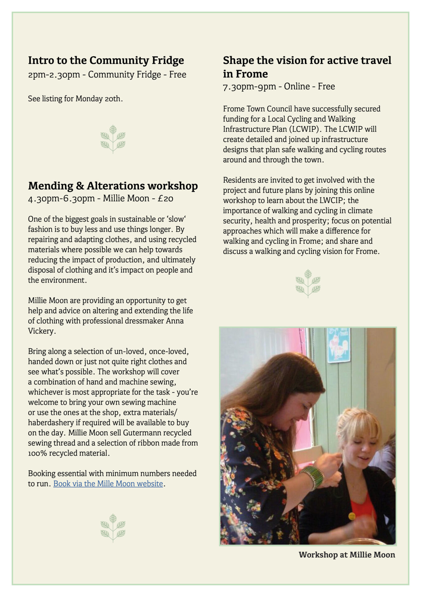 Great Big Green Week 2021 programme page 11
