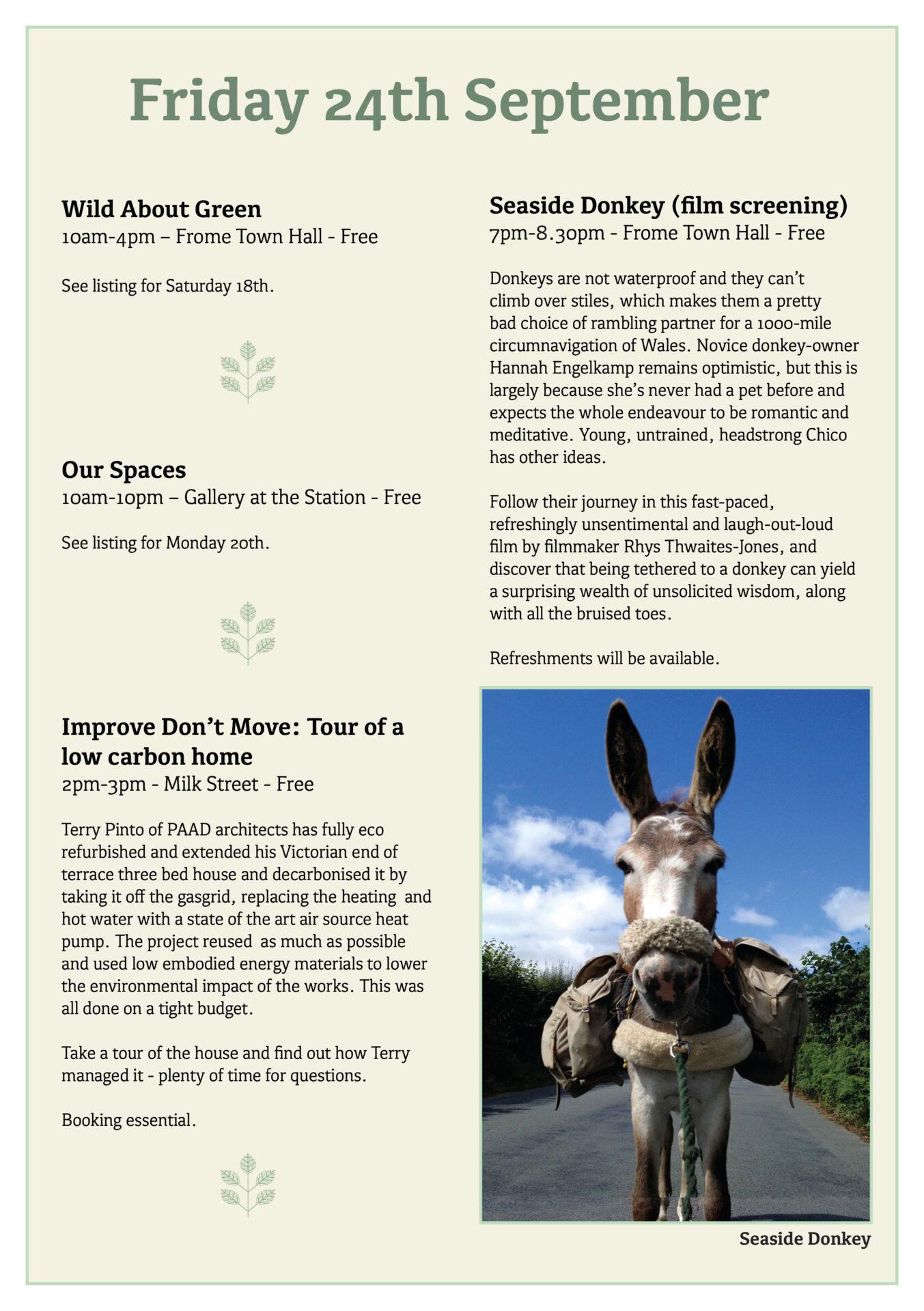 Great Big Green Week 2021 programme page 12