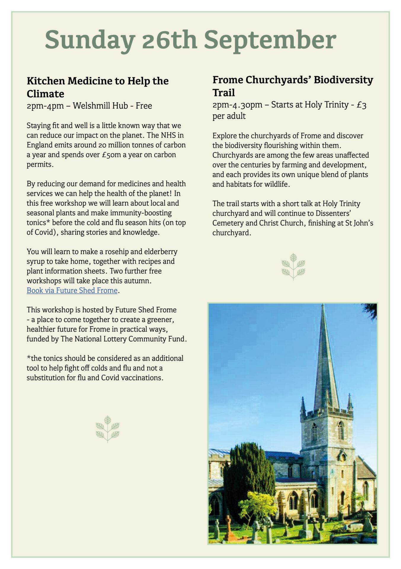 Great Big Green Week 2021 programme page 14