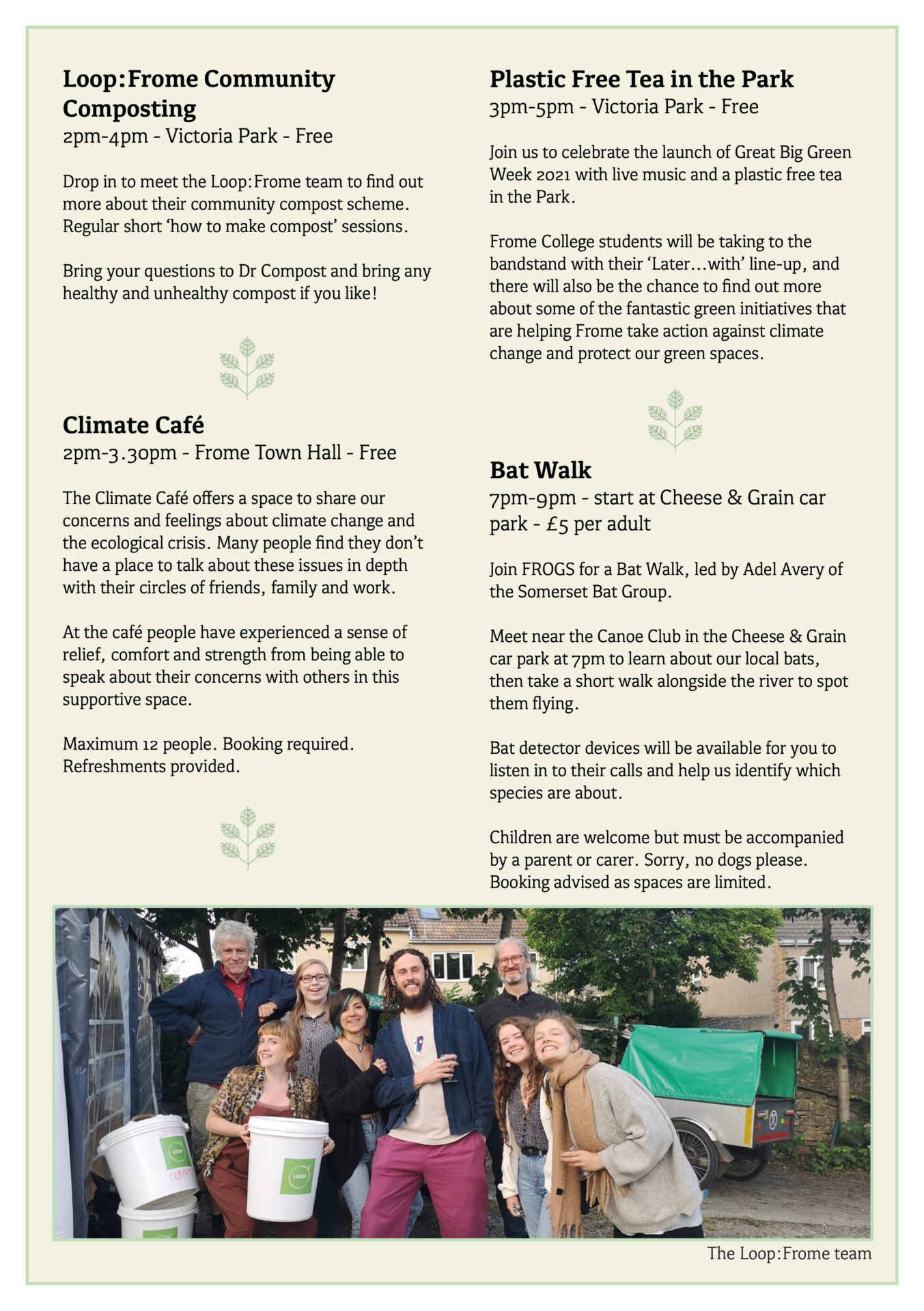 Great Big Green Week 2021 programme page 3