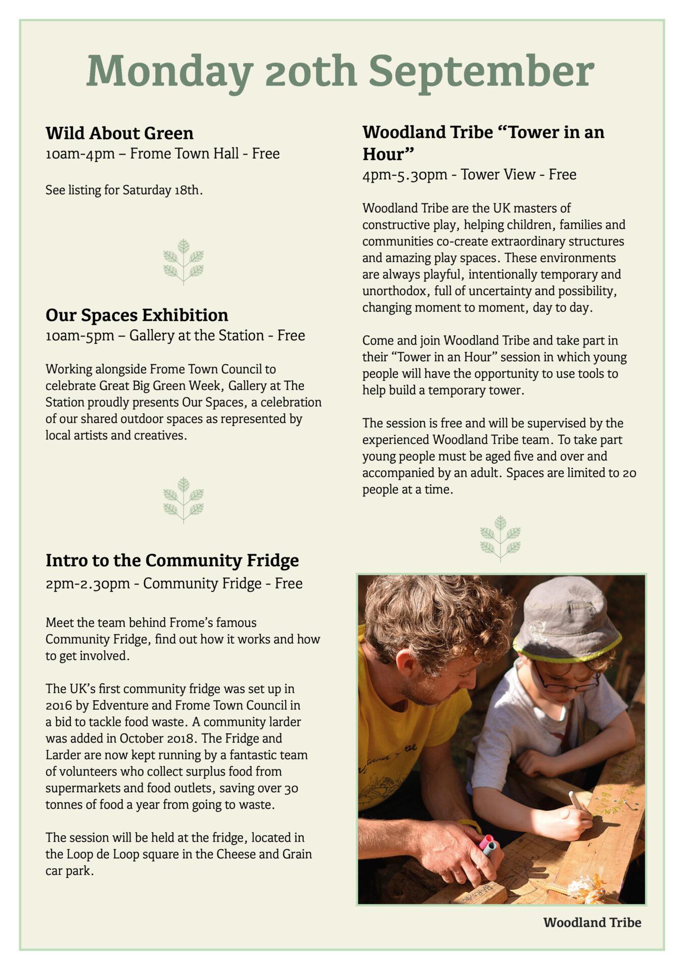 Great Big Green Week 2021 programme page 5