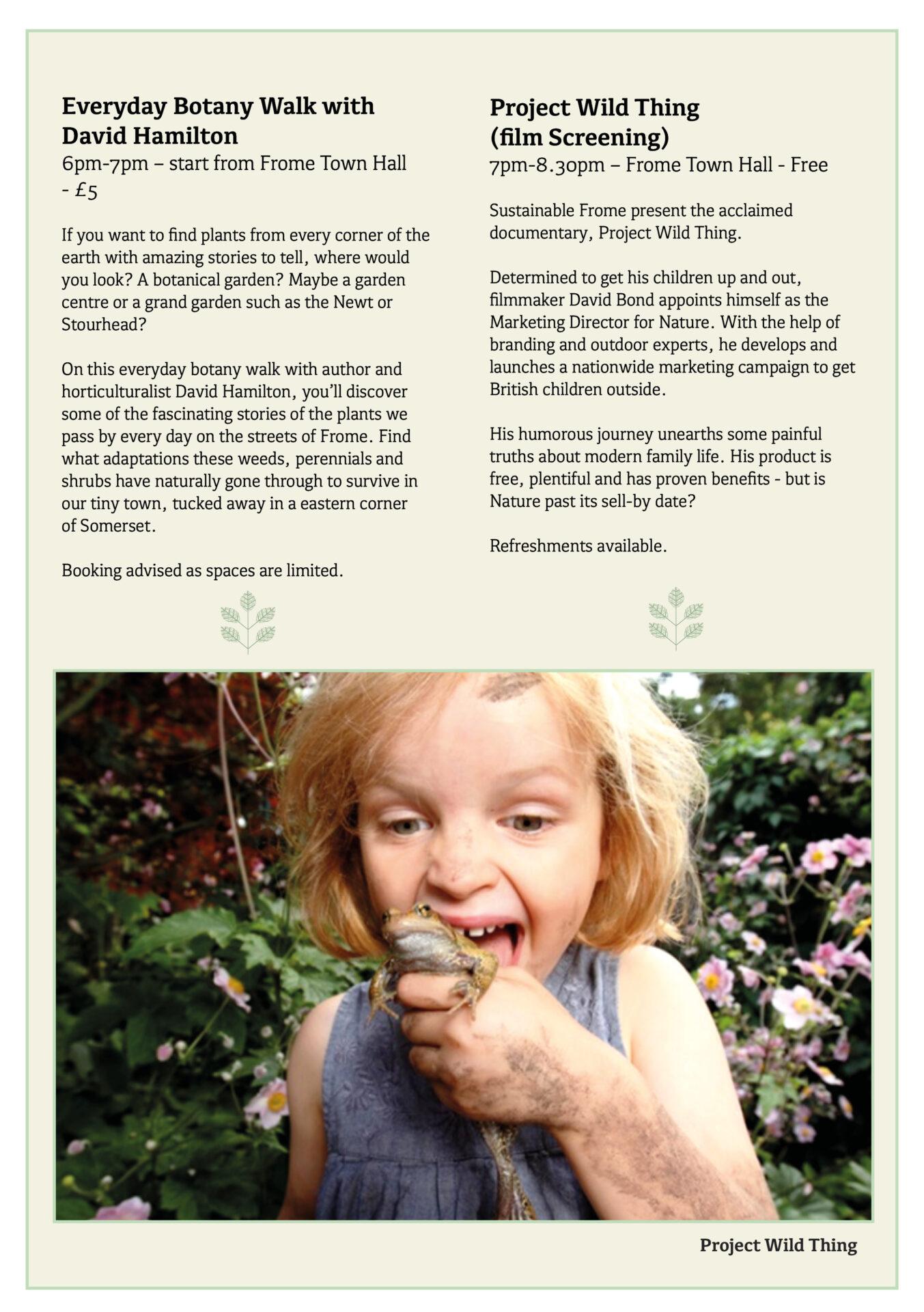 Great Big Green Week 2021 programme page 7
