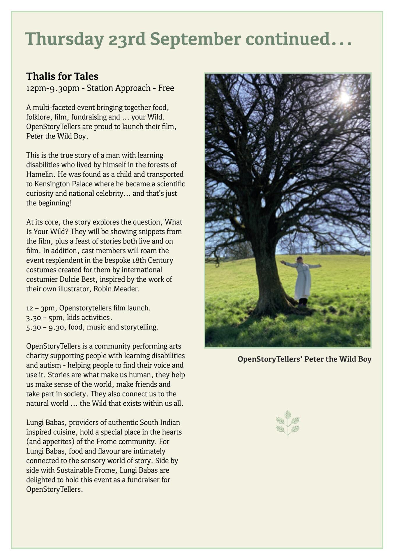 Great Big Green Week 2021 programme page 10