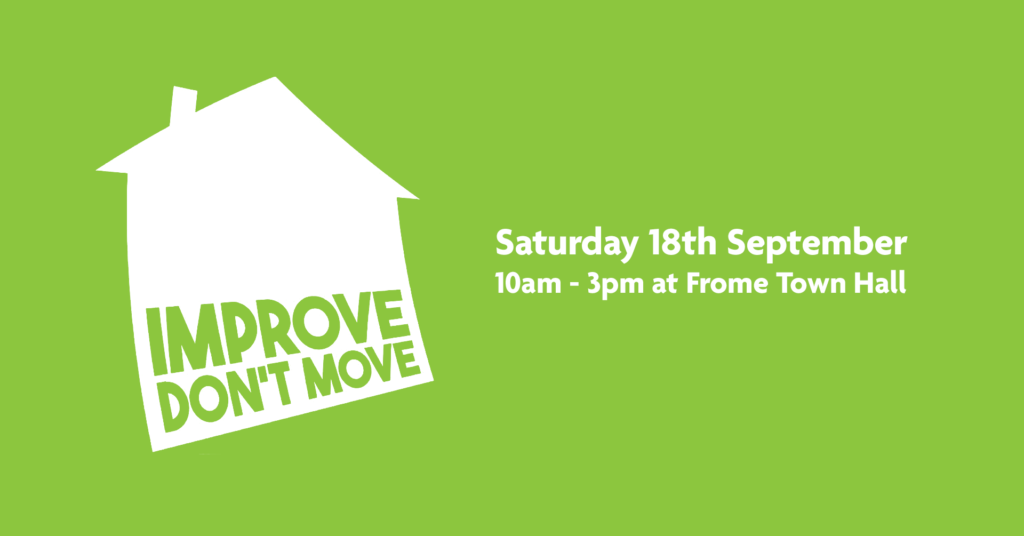 Saturday 18th September, 10am to 3pm at Frome Town Hall